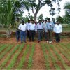 """<p class=""""MsoNormal"""" style=""""margin-bottom: .0001pt;""""><span style=""""font-family: 'Times New Roman','serif';"""">Sri S. Satyanarayana, District collector visited KVK, Banavasi along with APMIP officials. He interacted with KVK scientists and visited KVK farm, crop cafeteria and demo units laid out at KVK, Banavasi.</span></p>"""